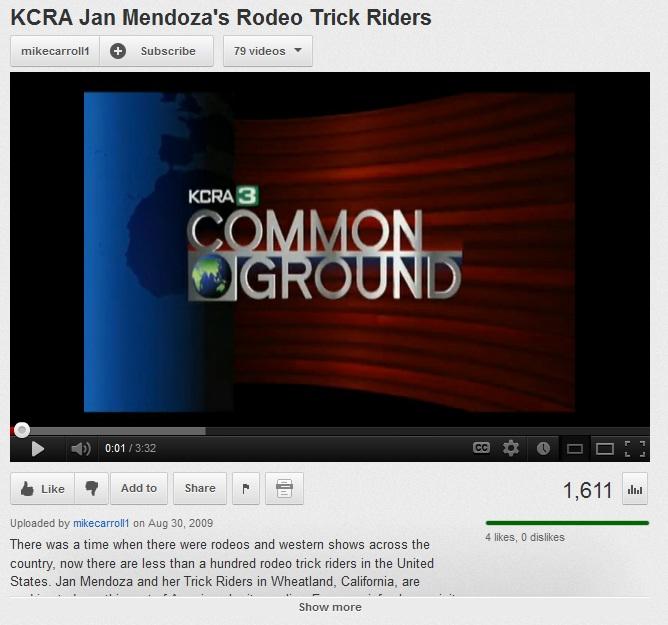 kcra trick riding